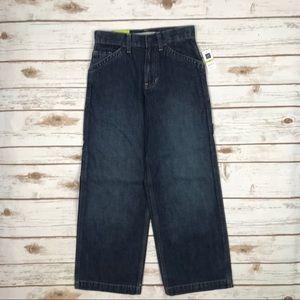 GapKids Boy's Carpenter Full Leg Jeans 8 I0715